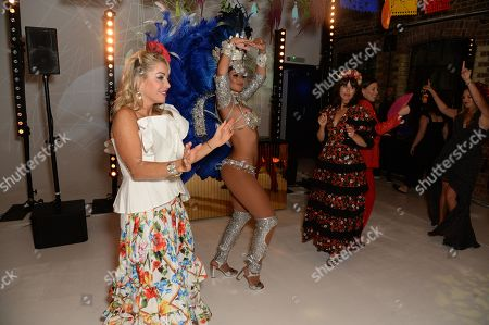 Editorial photo of Marisa Horden's 40th birthday party, London, UK - 07 Sep 2019