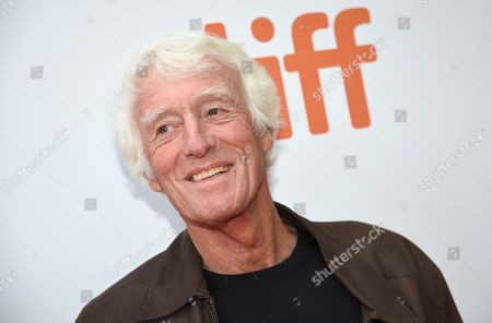 """Cinematographer Roger Deakins attends a premiere for """"The Goldfinch"""" on day four of the Toronto International Film Festival at Roy Thomson Hall, in Toronto"""
