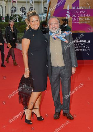 Olivier Dassault and his wife Natacha Nikolajevic
