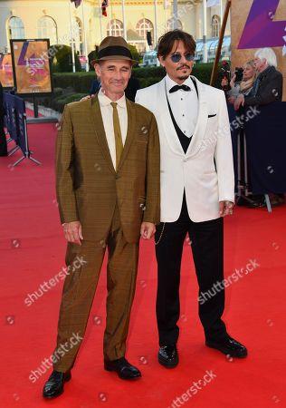 Mark Rylance and Johnny Depp
