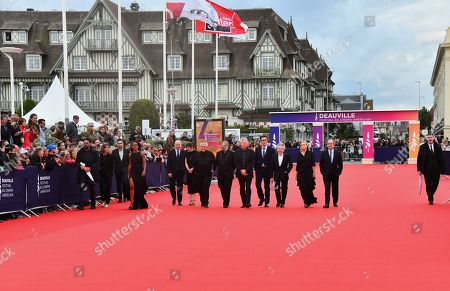 Jean-pierre Duret, Gaël Morel, Orelsan, Nicolas Saada, Gaspard Ulliel, Antonin Baudry, Catherine Deneuve and Vicky Krieps