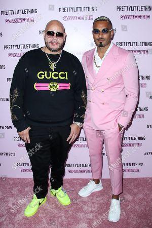 Fat Joe and Umar Kamani