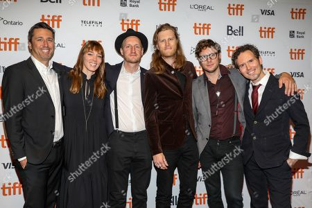 Jeremiah Fraites, Wesley Schultz and members of The Lumineers