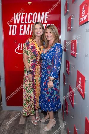 Savannah Guthrie and Jenna Bush