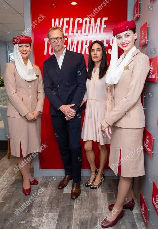 Paul Bettany, Jennifer Connelly and Cabin Crew