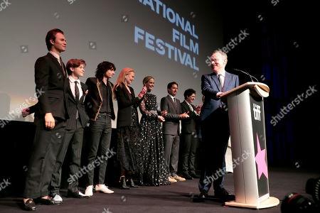 Ansel Elgort, Oakes Fegley, Finn Wolfhard, Nicole Kidman, Sarah Paulson, Luke Wilson, Aneurin Barnard, John Crowley, Director,