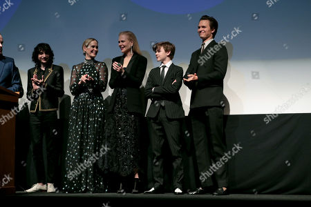 Finn Wolfhard, Sarah Paulson, Nicole Kidman, Oakes Fegley, Ansel Elgort