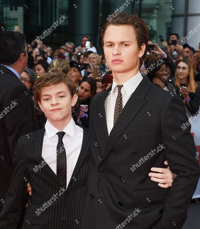 Ansel Elgort and Oakes Fegley