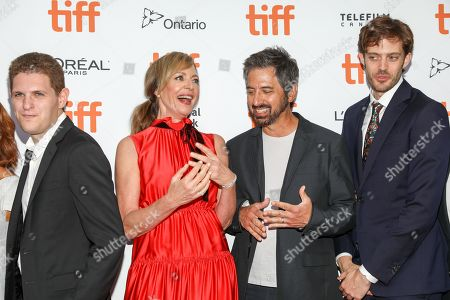 Stock Photo of Mike Makowsky, Allison Janney, Ray Romano, Cory Finley