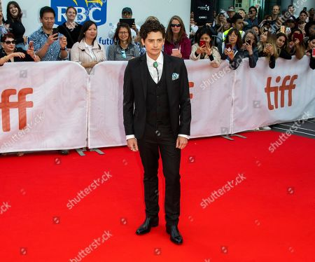 Aneurin Barnard arrives for the screening of the movie 'The Goldfinch' during the 44th annual Toronto International Film Festival (TIFF) in Toronto, Canada, 08 September 2019. The festival runs 05 to 15 September.