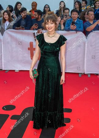 Stock Photo of Ashleigh Cummings arrives for the screening of the movie 'The Goldfinch' during the 44th annual Toronto International Film Festival (TIFF) in Toronto, Canada, 08 September 2019. The festival runs 05 to 15 September.
