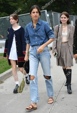 Editorial image of Street Style, Spring Summer 2020, New York Fashion Week, USA - 08 Sep 2019