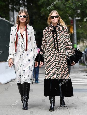 Editorial picture of Street Style, Spring Summer 2020, New York Fashion Week, USA - 08 Sep 2019