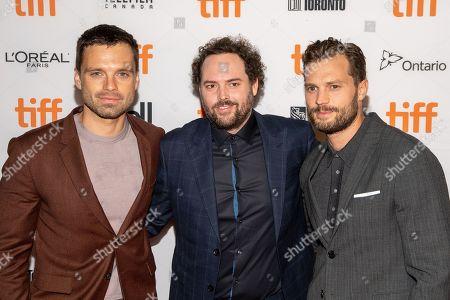 Sebastian Stan, Drake Doremus and Jamie Dornan