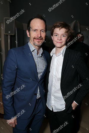 Stock Picture of Denis O'Hare, Oakes Fegley