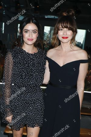Lucy Hale and Linda Cardellini