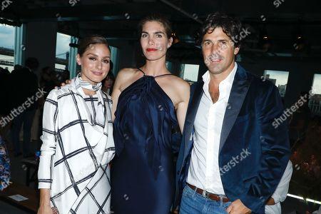 Olivia Palermo, Delfina Blaquier, and Nacho Figueras