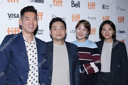 Fred Lee, Francis Chung, Jihyun Ok and Mina Hwang