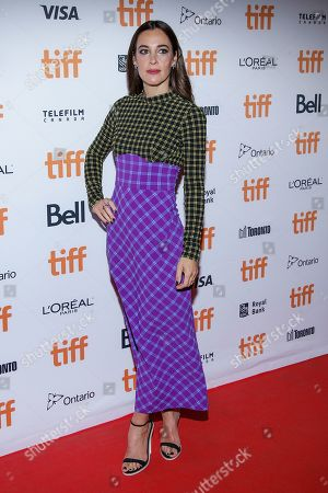 Editorial picture of 'Endings, Beginnings' premiere, Arrivals, Toronto International Film Festival, Toronto, Canada - 08 Sep 2019