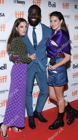 Stock Photo of Lindsay Sloane, Shamier Anderson and Shailene Woodley