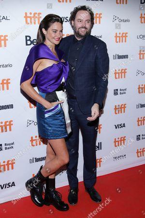 Stock Image of Shailene Woodley and Drake Doremus