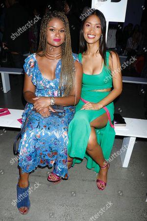 Raquel Willis and Geena Rocero