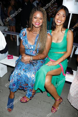 Stock Photo of Raquel Willis and Geena Rocero