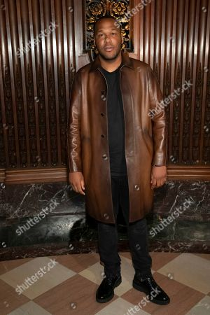 Stylist Jason Rembert attends the Pyer Moss runway show during NYFW Spring/Summer 2020, in Brooklyn, New York