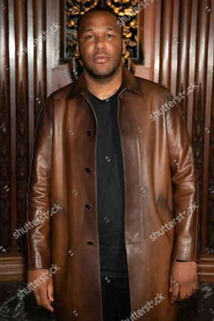 Stock Image of Stylist Jason Rembert attends the Pyer Moss runway show during NYFW Spring/Summer 2020, in Brooklyn, New York