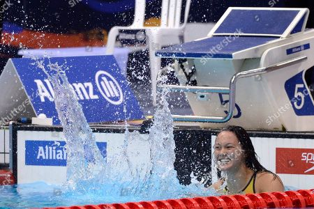 Alice Tai of Great Britain during the Women's 400m Freestyle S8 Final at Day four of the London 2019 World Para Allianz Championships at the London Aquatics centre in Stratford, London, UK - 12th September 2019