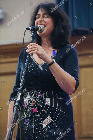 Stock Picture of Anita Dobson of Road Not Taken