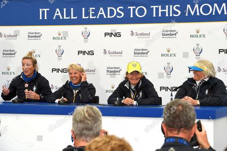 Editorial photo of Solheim Cup 2019, Tuesday Practice, Golf, Gleneagles, PGA Centenary Course, Scotland, UK - 10 Sep 2019