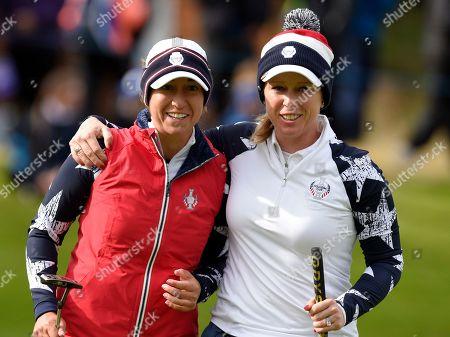 Editorial photo of Solheim Cup 2019, Day Two, Golf, Gleneagles, PGA Centenary Course, Scotland, UK - 14 Sep 2019