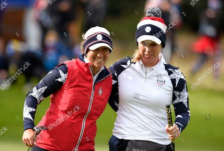Editorial picture of Solheim Cup 2019, Day Two, Golf, Gleneagles, PGA Centenary Course, Scotland, UK - 14 Sep 2019