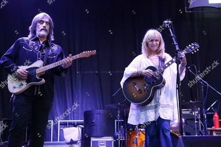 Stock Photo of Larry Campbell and Teresa Williams