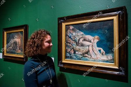 Newton 1795-c.1805  - William Blake at Tate Britain.