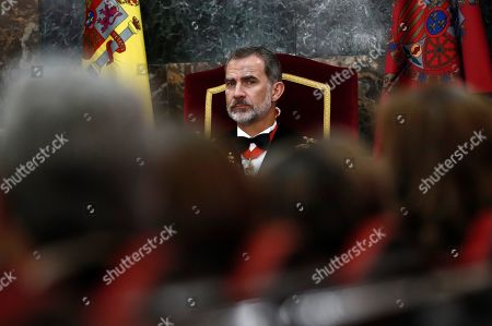 King Felipe VI chairs the opening of the judicial year, Madrid