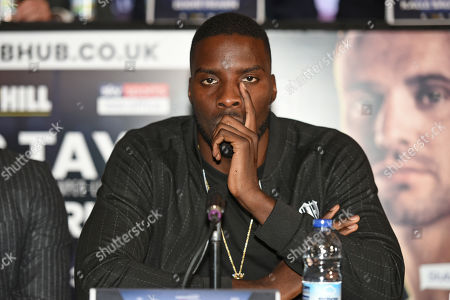 Lawrence Okolie during a Press Conference at the Park Plaza on 9th September 2019