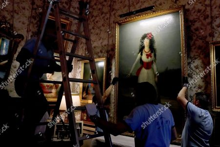 Editorial picture of Artworks return to Palace of Liria in Madrid, Spain - 09 Sep 2019