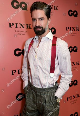 Jack Guinness wearing Thomas Pink