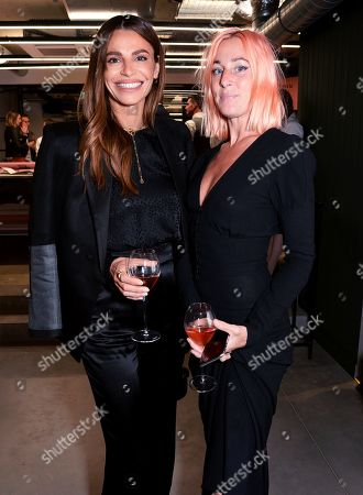 Stock Photo of Misse Beqiri and Katie Eary
