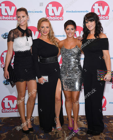Stock Photo of Olivia Bromley, Natalie Ann Jamieson, Isabel Hodgins and Laura Norton