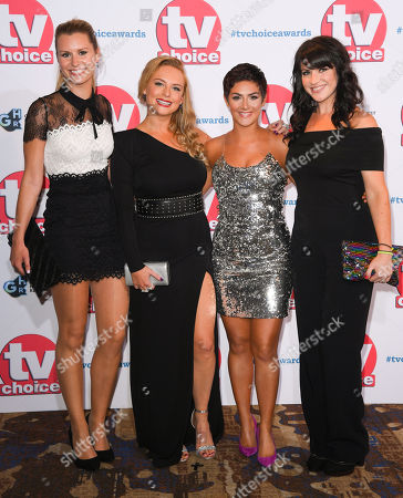 Stock Image of Olivia Bromley, Natalie Ann Jamieson, Isabel Hodgins and Laura Norton