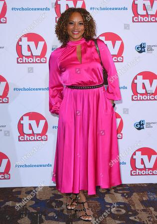 Editorial photo of The TV Choice Awards, London, UK - 09 Sep 2019