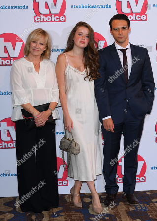 Stock Photo of Lindsey Coulson, Imogen King and Adam Long