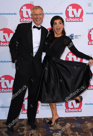 Editorial photo of The TV Choice Awards, London, UK - 09 Sep 2019