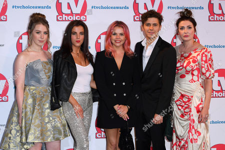 Beccy Henderson, Jamie-Lee O'Donnell, Saoirse-Monica Jackson, Dylan Llewellyn and Kathy Kiera Clarke