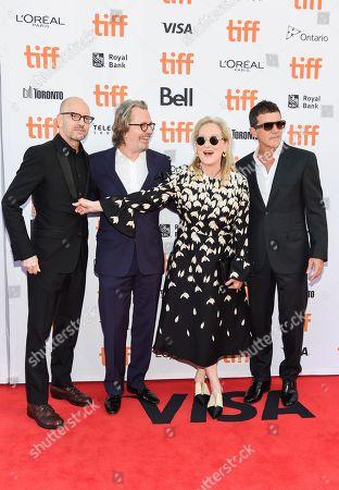 Steven Soderbergh, Gary Oldman, Meryl Streep, and Antonio Banderas