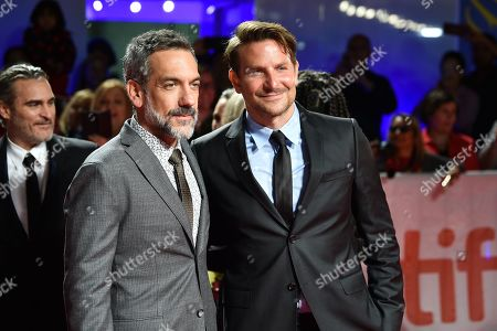 Stock Image of Todd Phillips and Bradley Cooper