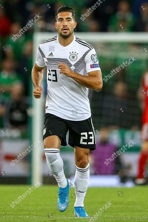 Germany midfielder Emre Can (23) during the UEFA European 2020 Qualifier match between Northern Ireland and Germany at National Football Stadium, Windsor Park